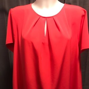 Lands' End Tops - The Outfitters by Lands' End blouse coral EUC